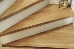 Natural Solid Oak stairs